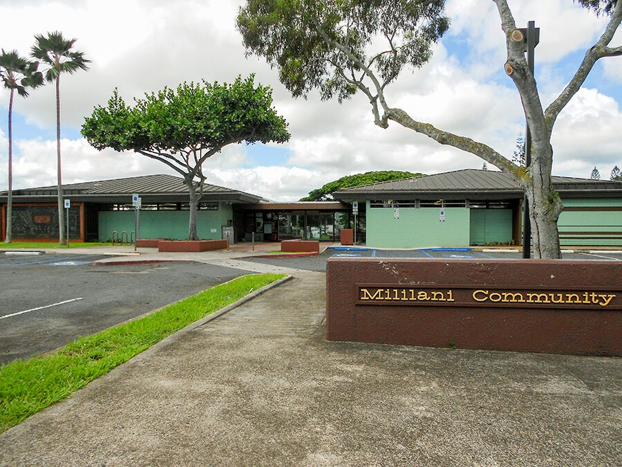 Hawaii State Public Library System Mililani Public Library