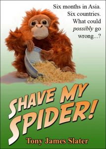 Cover of book Shave My Spider