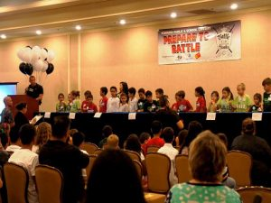 photo of Battle of the Books final competition