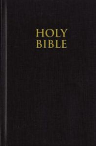 Holy Bible book cover