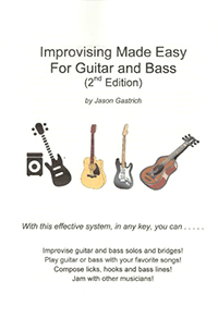 Improvising Made Easy for Guitar and Bass title page