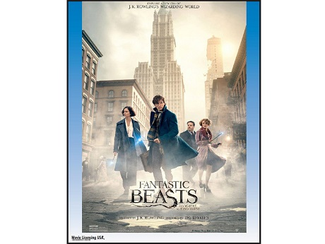 Fantastic Beats and Where to Find Them movie poster