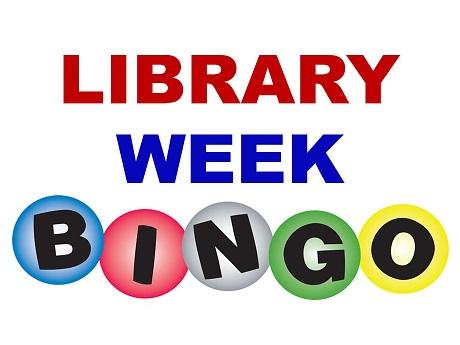 Library Week Bingo