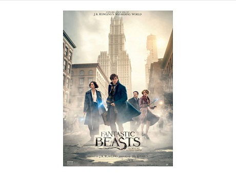 cast of fantastic beasts movie