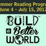 Summer Reading Program June 4 - July 15, 2017