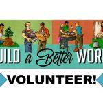 Build a better world - Volunteer!