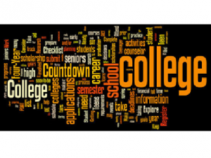 Collage of college terms